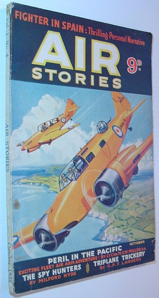 Image for Air Stories - Aerial Adventure in Fact and Fiction: June 1939, Vol. 8, No. 6
