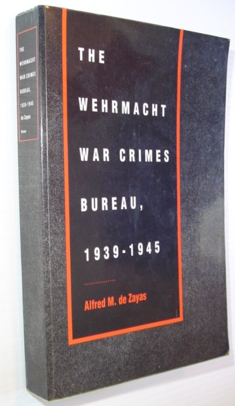 Image for The Wehrmacht War Crimes Bureau, 1939-1945
