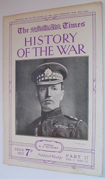Image for The Times History of the War - Part 17, Vol. 2 December (Dec.) 15, 1914
