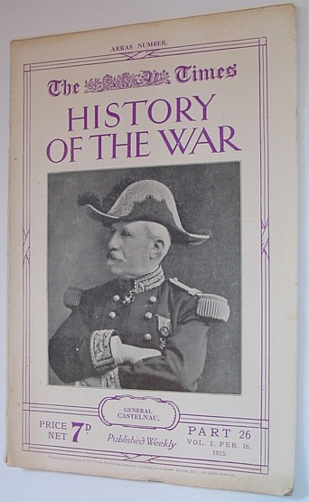 Image for The Times History of the War - Part 26, Vol. 2 February (Feb.) 16, 1915