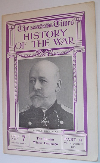 Image for The Times History of the War - Part 44, Vol. 4, June 22, 1915 - The Russian Winter Campaign