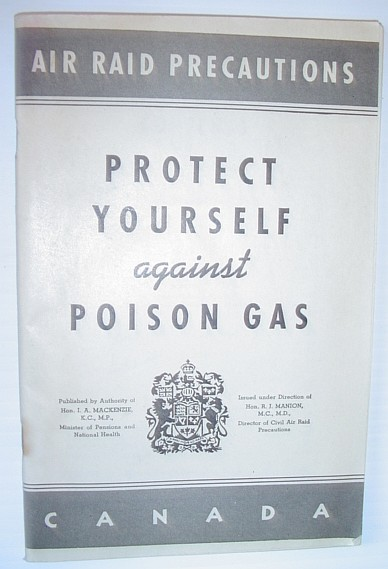 Image for Protect Yourself Against Poison Gas - Air Raid Precautions