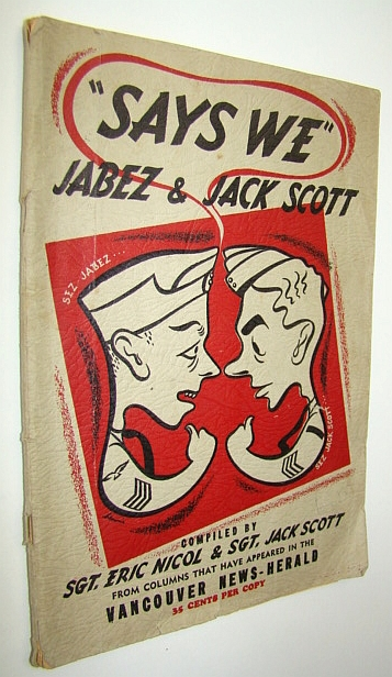 "Image for ""Says We"" Jabez & Jack Scott - from Columns That Have Appeared in the Vancouver News-Herald"