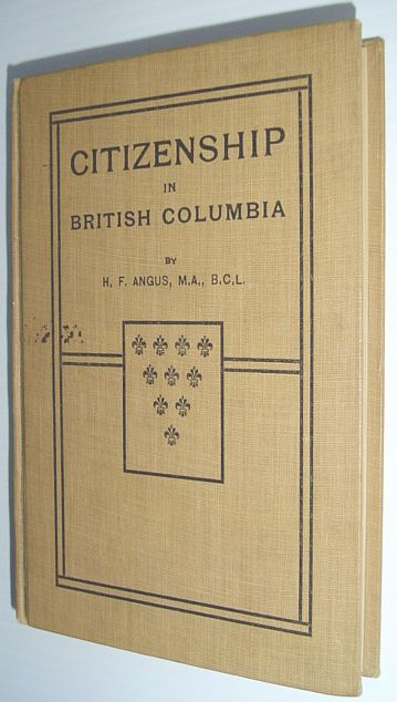 Image for Citizenship in British Columbia - Authorized for Use in the Schools of British Columbia