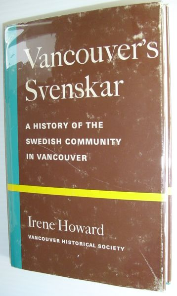 Image for Vancouver's Svenskar - A History of the Swedish Community in Vancouver
