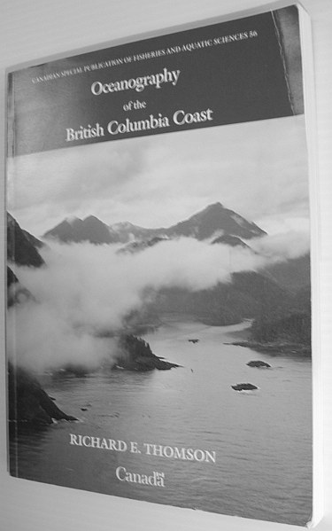 Image for Oceanography of the British Columbia Coast (Canadian Special Publication of Fisheries & Aquatic Sciences)