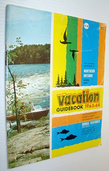 Image for Vacation Guidebook 1963-1964: The Exclusive Guidebook to Northern Ontario