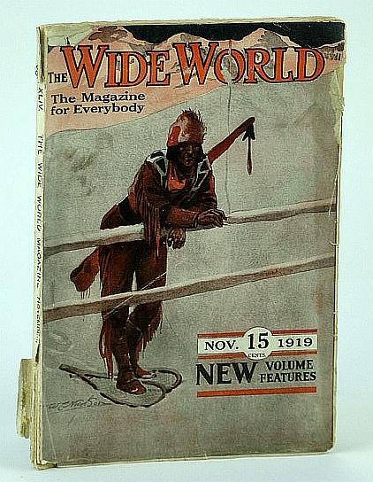 Image for The Wide World Magazine, The Magazine for Everybody, Vol. XLIV, No. 259, November (Nov.) 1919 - Auguste Englehardt is The Apostle of the Coco-nut (Coconut)
