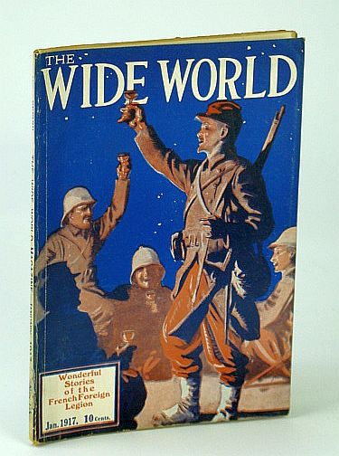 Image for The Wide World Magazine, January (Jan.) 1917 - Wonderful Stories of the French Foreign Legion