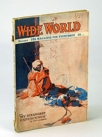 "Image for The Wide World Magazine, Vol. XLVI - No. 272, December, 1920 - Saving of the ""Cardium"" / Among Bolshevists"