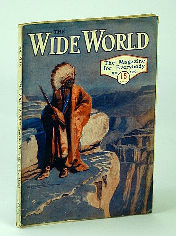 Image for The Wide World Magazine - The Magazine for Everybody, Vol. XLIV - No. 262, February (Feb.) 1920 - Captivity Among the Turks