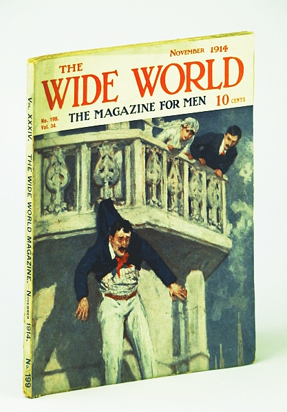 Image for The Wide World  - The Magazine For Men, November (Nov.) 1914, No. 199, Vol. 34 - Trip to Kolahoi Glacier / Drifting Through Mesopotamia
