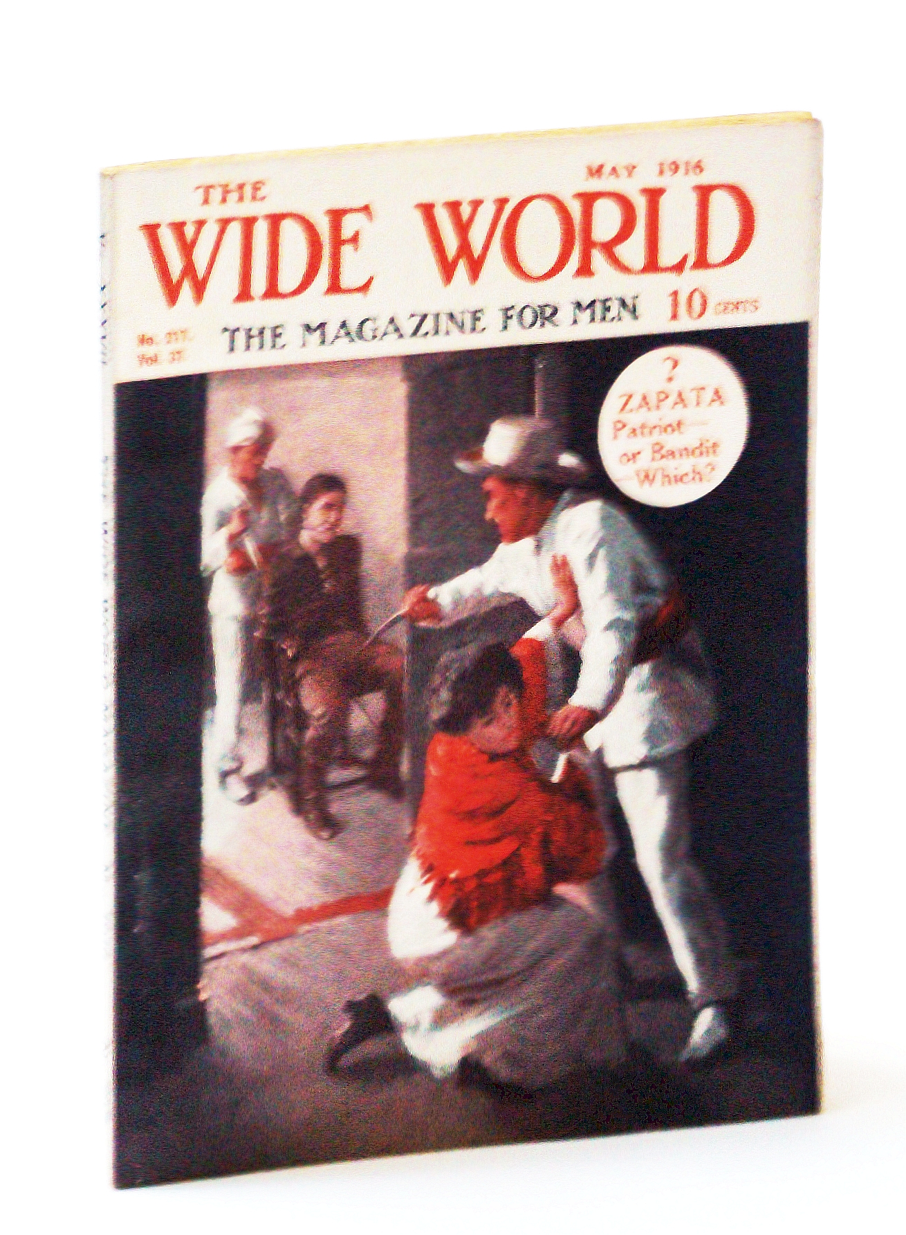 "Image for The Wide World  - The Magazine For Men, May 1916, No. 217, Vol. 37 - ""Strafing"" a Zeppelin / Our Escape from ""German West"""