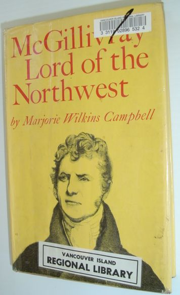 Image for McGillivray - Lord of the Northwest