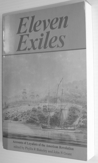 Image for Eleven Exiles: Accounts of Loyalists of the American Revolution
