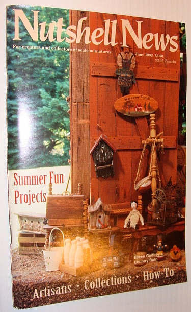 Image for Nutshell News Magazine, June 1993 - Summer Fun Projects