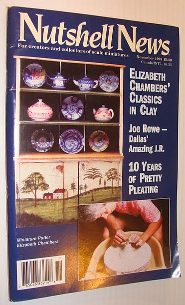Image for Nutshell News Magazine, November 1993 - Miniature Potter Elizabeth Chambers