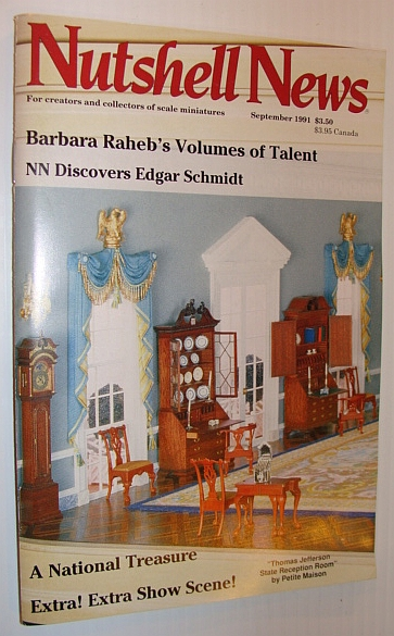 Image for Nutshell News Magazine, September 1991- Barbara Raheb's Volumes of Talent!