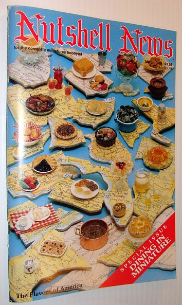 Image for Nutshell News Magazine, March 1989 - Special Issue - Dining in Miniature