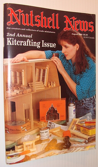 Image for Nutshell News Magazine, August 1989 - 2nd Annual Kitcrafting Issue