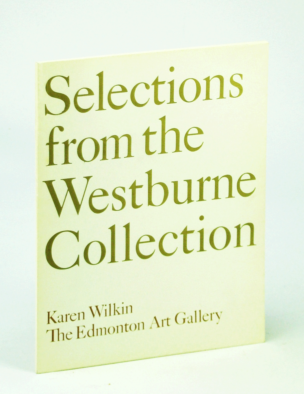 Image for Selections from the Westburne Collection