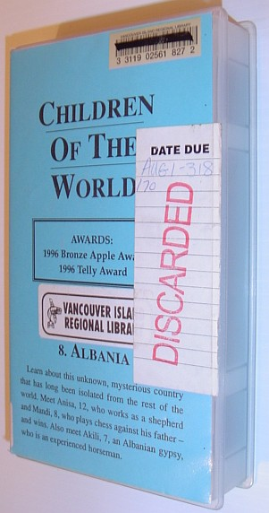 Image for Children of the World: #8 Albania - 25 Minute VHS Tape in Case