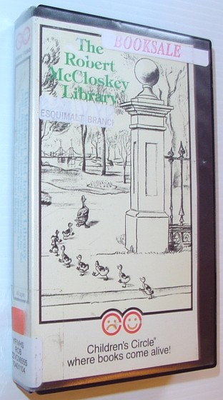 Image for The Robert McCloskey Library: 58 Minute VHS Video Tape in Case