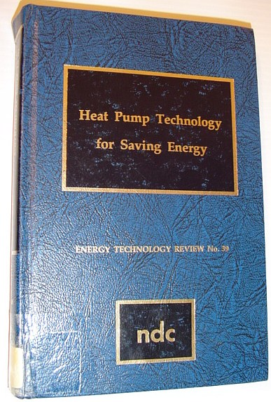 Image for Heat Pump Technology for Saving Energy (Energy Technology Review)