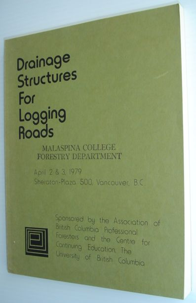 Image for Drainage Structures for Logging Roads