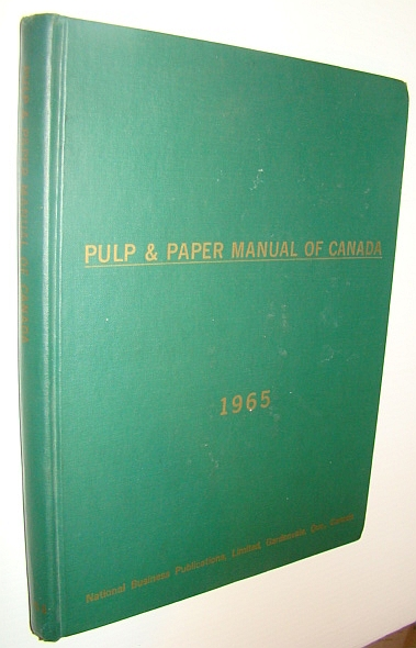 Image for Pulp and Paper Manual of Canada 1965