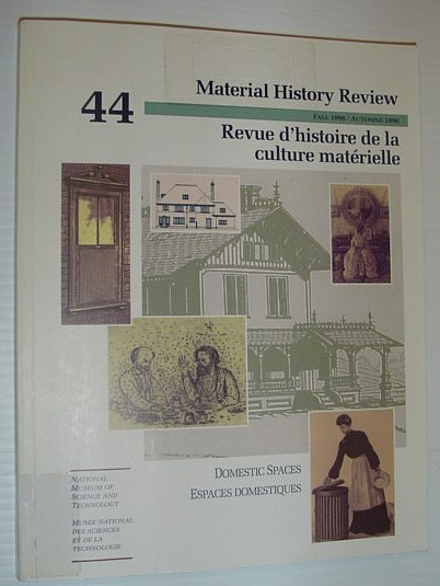 Image for Material History Review -  Number 44, Fall 1996
