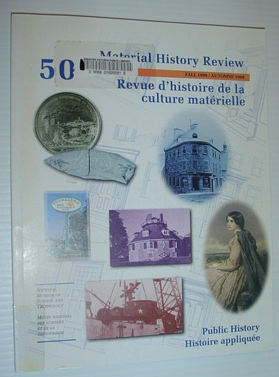 Image for Material History Review 50, Fall 1999 *Public History*
