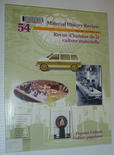 Image for Material History Review 54, Fall 2001 *Popular Culture*