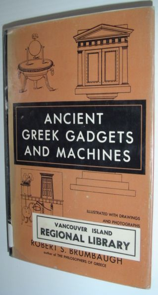Image for Ancient Greek Gadgets and Machines