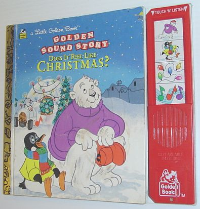 Image for Does it Feel Like Christmas? (Little Golden Sound Story Book)