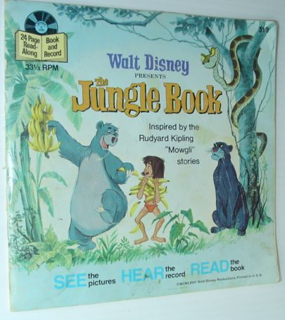 Image for The Jungle Book - 24 Page Read-Along Book and Record