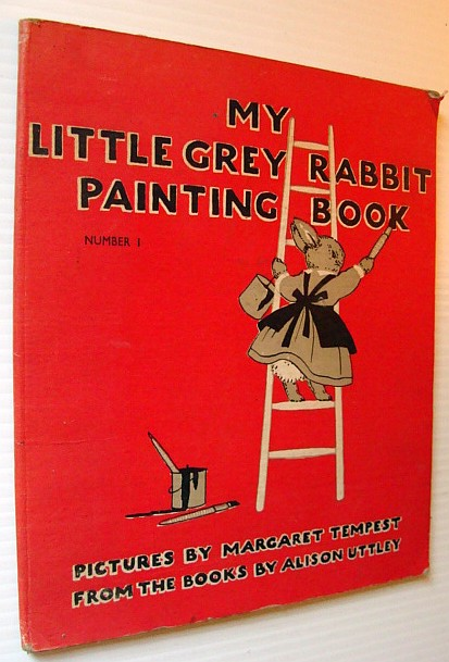 Image for My Little Grey Rabbit Painting Book - Number 1 (One)