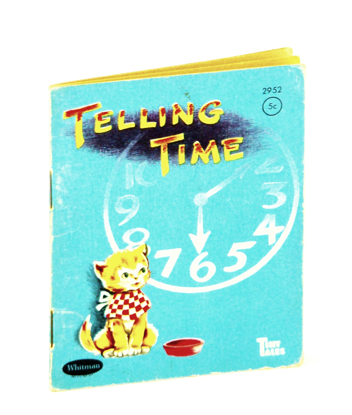 Image for Telling time (Whitman tiny tales)