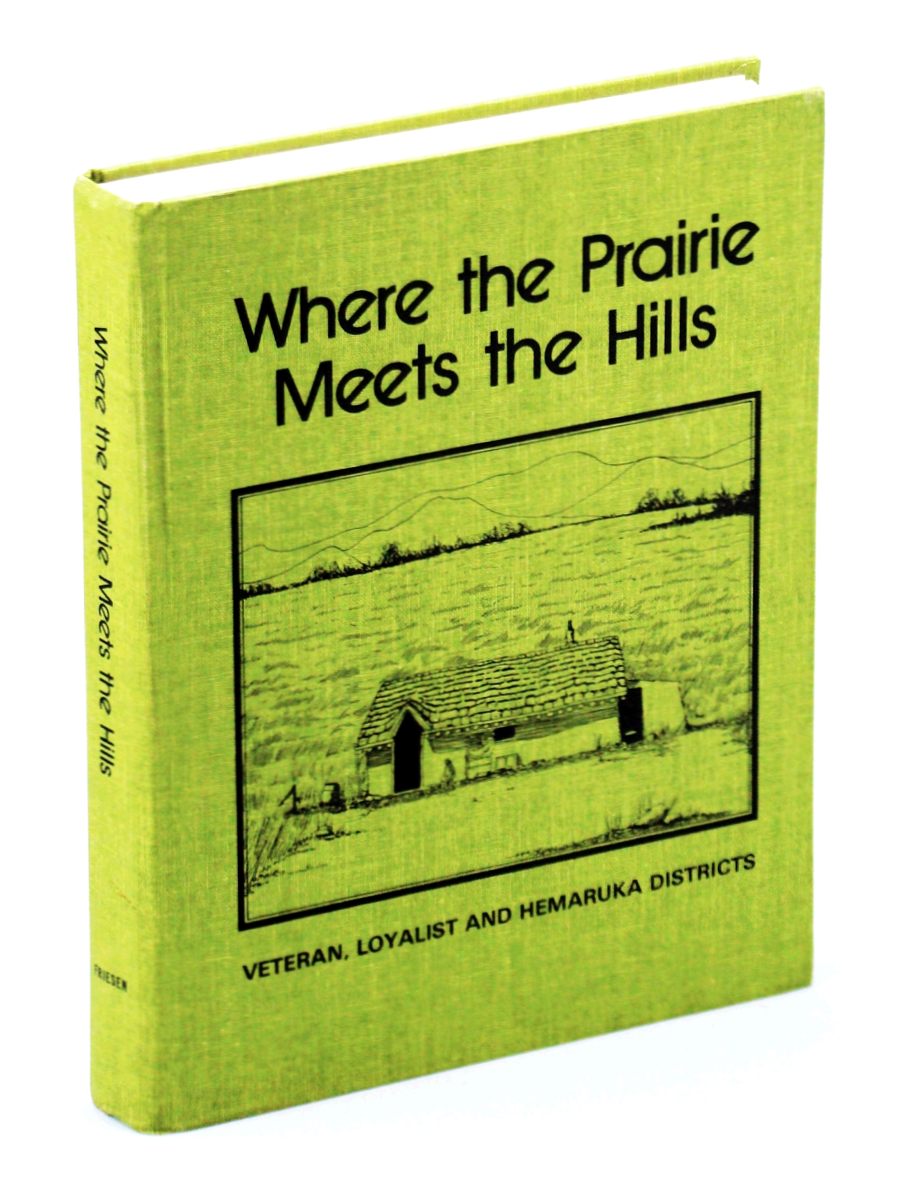 Image for Where the prairie meets the hills: Veteran, Loyalist, and Hemaruka districts