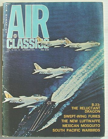 Image for Air Classics Magazine Vol. 10, No. 10 October 1974