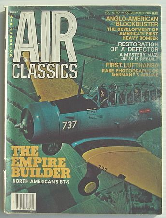 Image for Air Classics Magazine Vol. 12, No. 10 October 1976