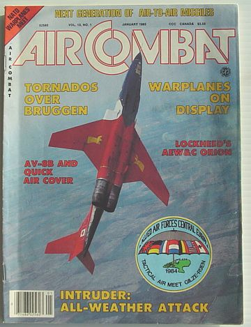 Image for Air Combat Magazine Vol. 13, No. 1 January 1985