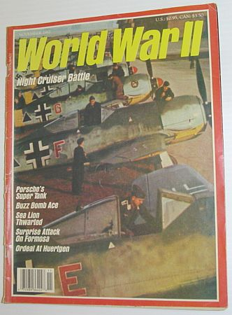 Image for World War II (2) Magazine, November 1987