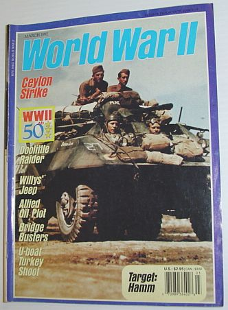 Image for World War II (2) Magazine, March 1992