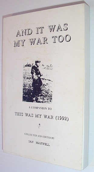 Image for And it Was My War Too