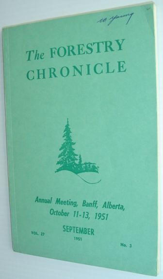 Image for The Forestry Chronicle - September 1951