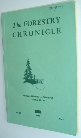 Image for The Forestry Chronicle - June 1953