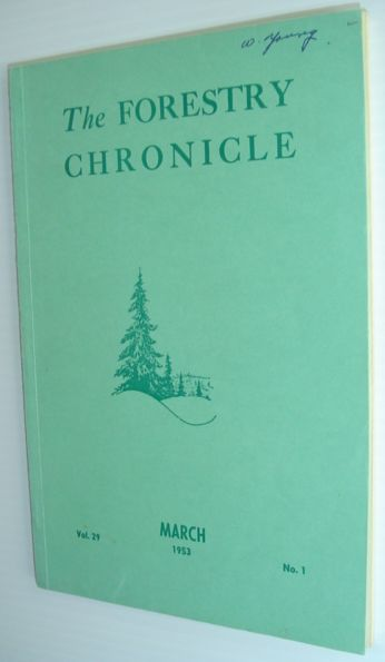 Image for The Forestry Chronicle - March 1953