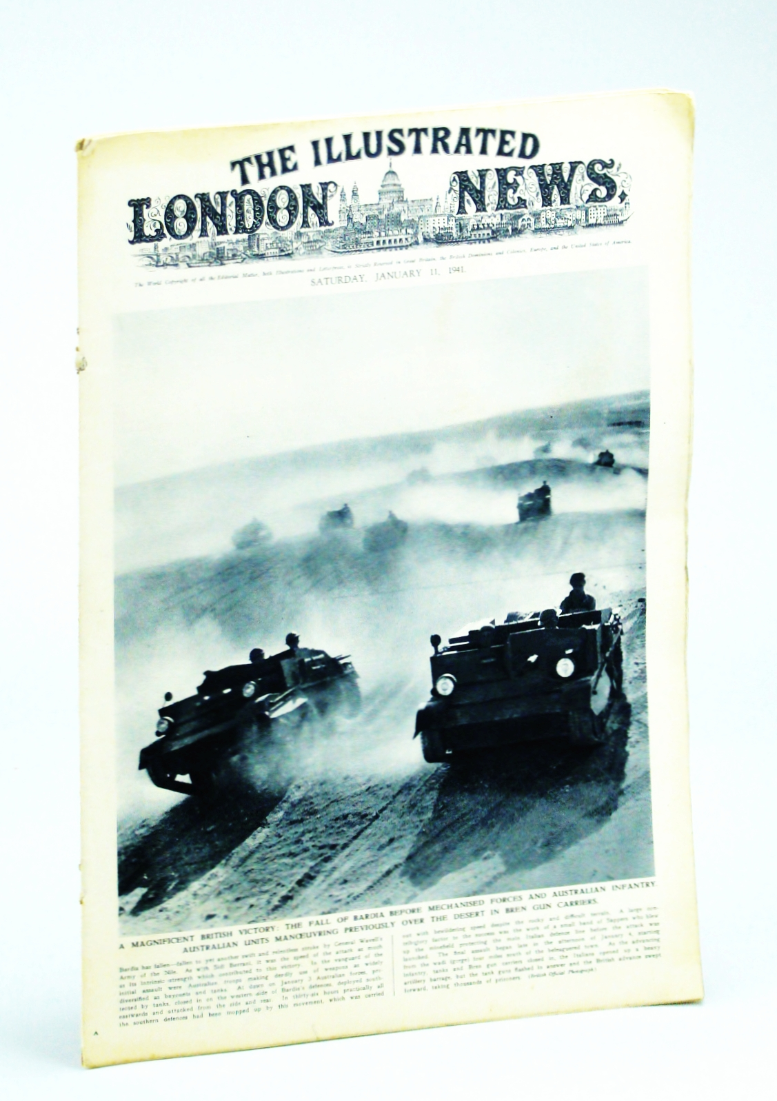 Image for The Illustrated London News, January 11 1941
