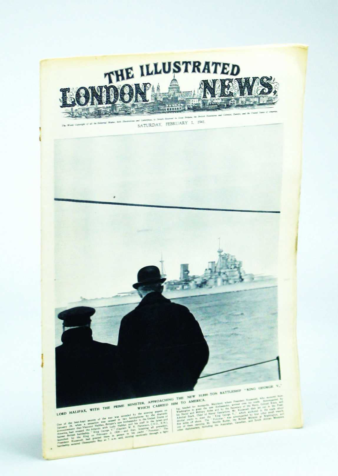 Image for The Illustrated London News, Saturday, February [Feb.] 1, 1941 - First Views of the Capture of Bardia
